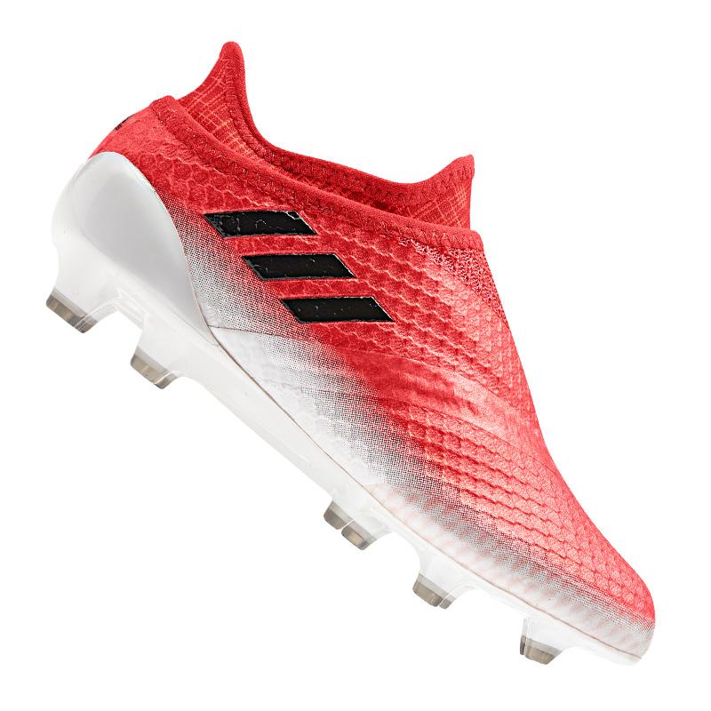 Adidas Messi 16+ pureagility FG J Enfants Rouge Noir