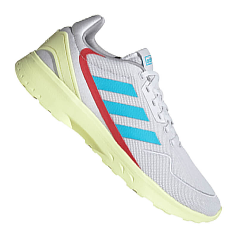 Adidas Nebzed Turnschuhe Grau Blau Gelb