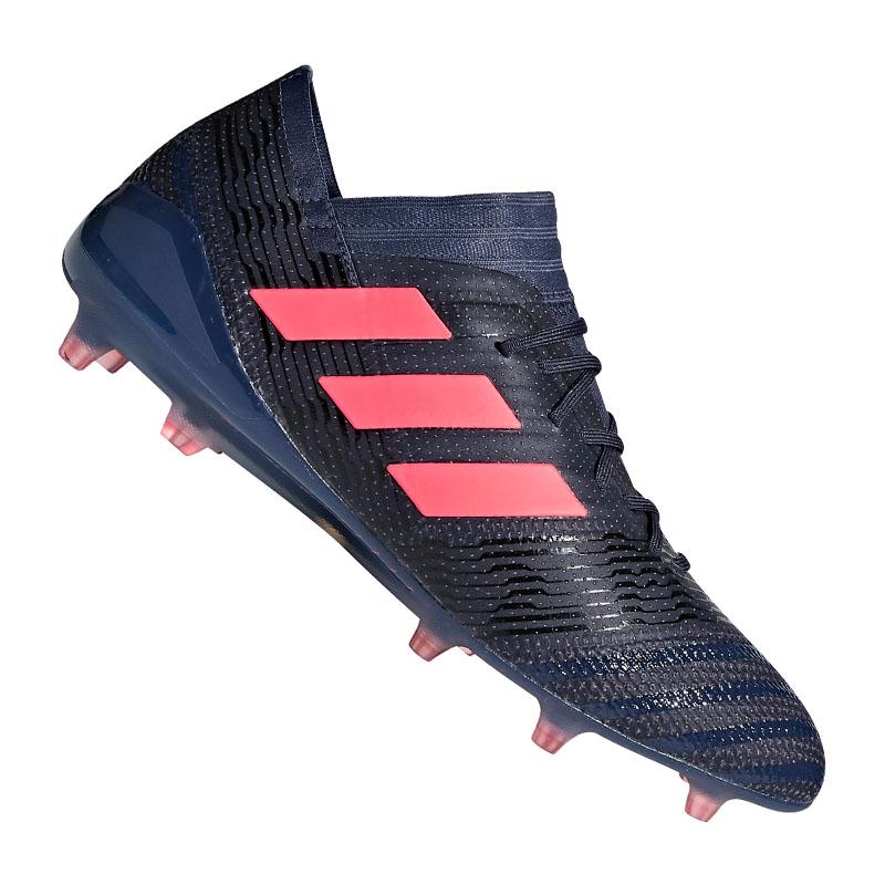 Details zu adidas NEMEZIZ 17.1 FG Damen Blau Pink