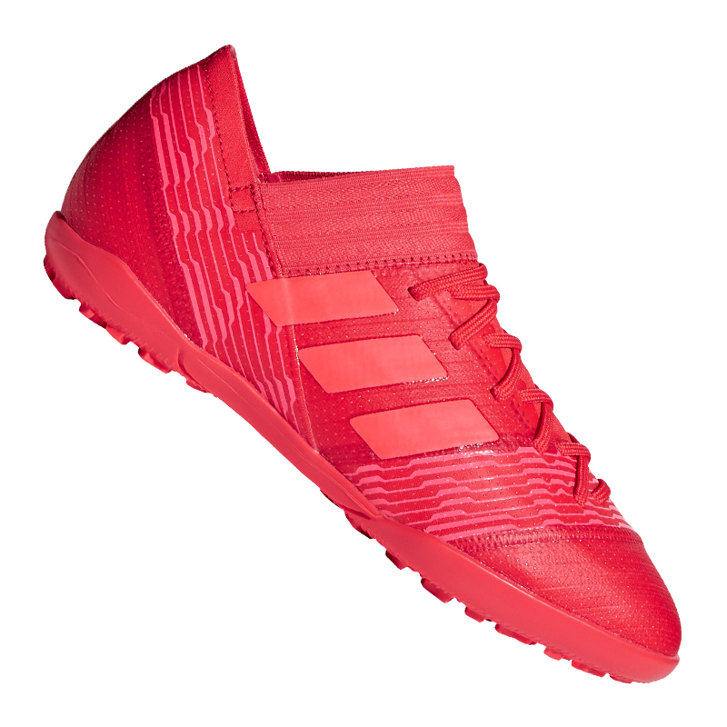 Adidas Nemeziz Tango 17.3 Tf J Niños red whiteo