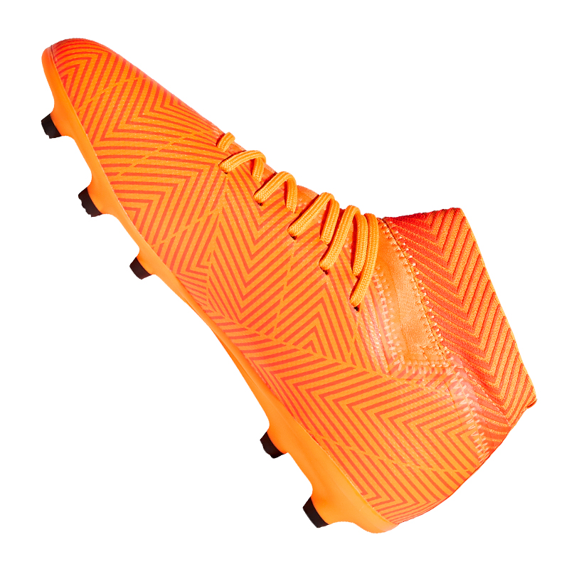 Adidas NEMEZIZ 18.3 FG J Kids Kids Kids Orange Schwarz cdb05e