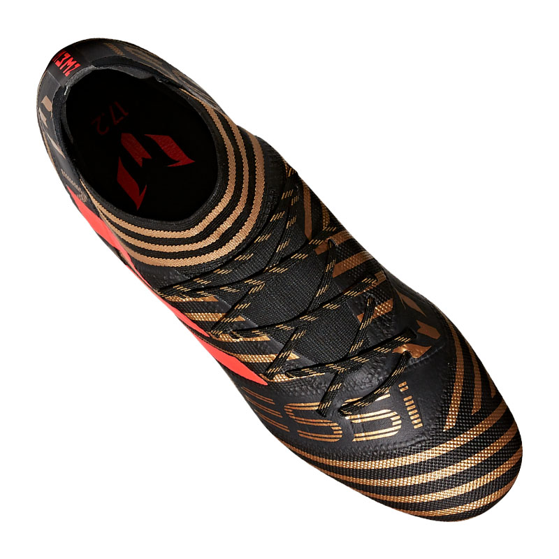 Adidas-Nemeziz-Messi-17-2-Fg-Noir-Rouge miniature 3