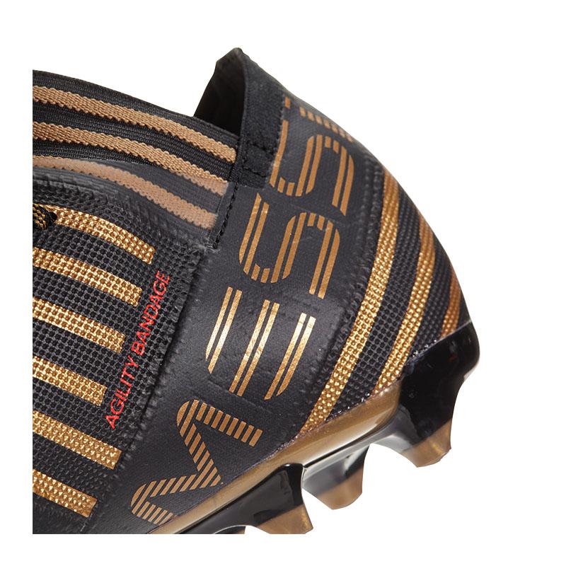 Adidas-Nemeziz-Messi-17-2-Fg-Noir-Rouge miniature 5