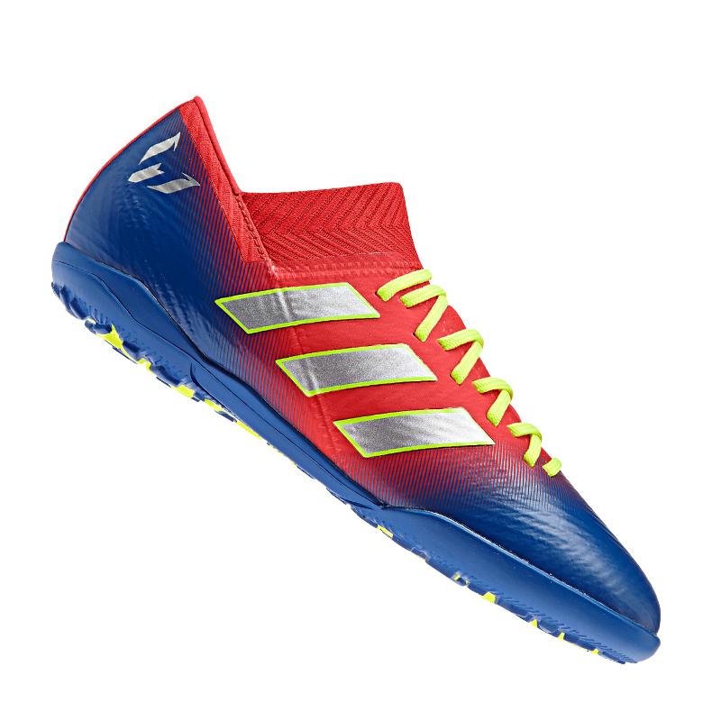 on sale d3e62 59bba Adidas Nemeziz Messi 18.3 Tf Enfants Rouge Bleu
