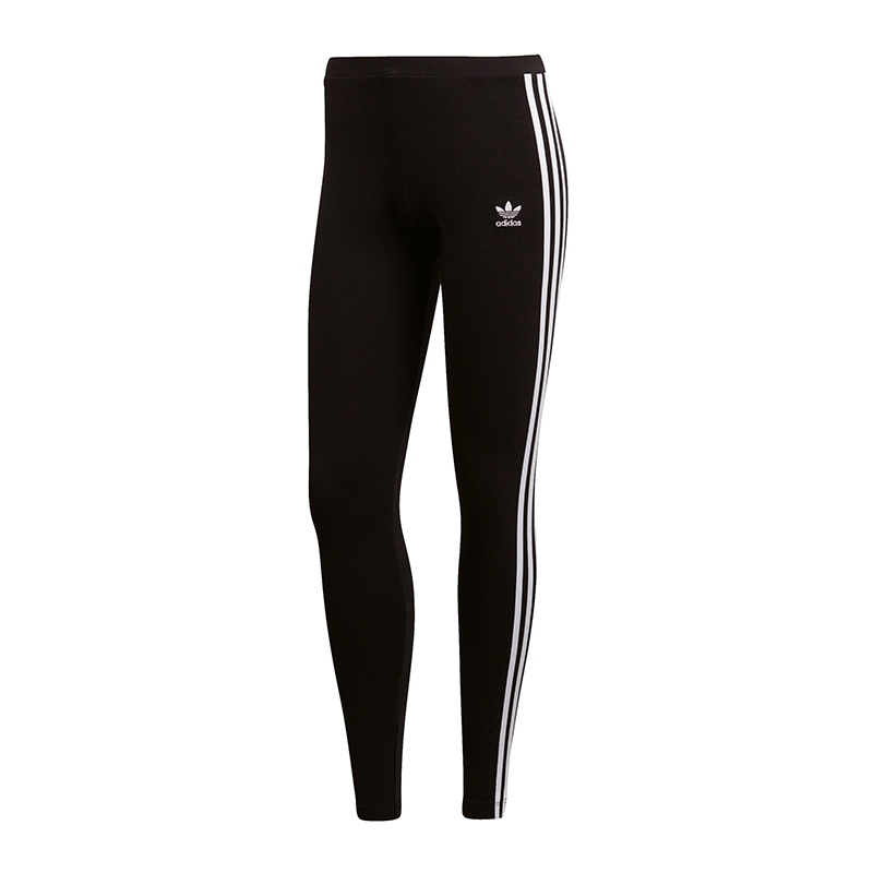 Nero Donna Legging Adidas Originals 3 Stripes RXwIxBz1qf