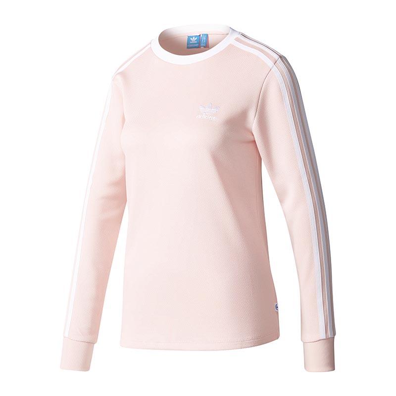 Shirt Stripes Damen Originals 3 N1xnti Rosa Ebay Ls Adidas IH29EDW