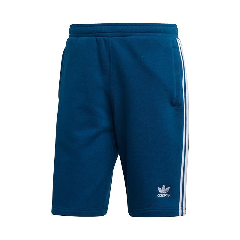 Adidas Originals 3 Stripes Short Hose kurz Blau     | Verkaufspreis