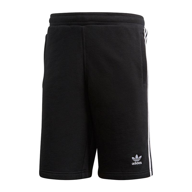Adidas Originals 3 Stripes Short Schwarz Farben Sind AuffäLlig
