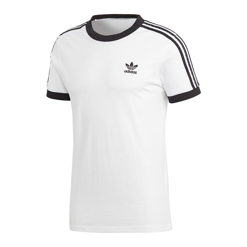 Damen T Shirt adidas Originals 3 Stripes CY4754 | WEIβ | für