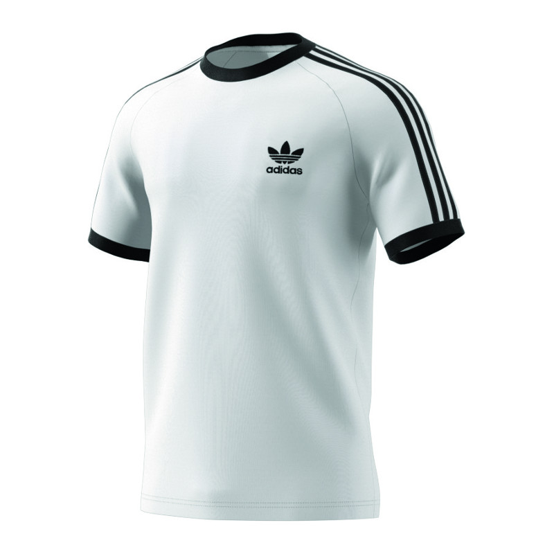 adidas-Originals-3-Stripes-Tee-T-Shirt-Weiss