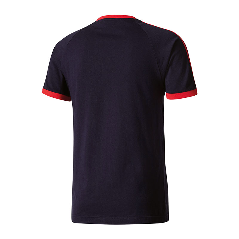 adidas originals clfn tee t shirt schwarz rot ebay. Black Bedroom Furniture Sets. Home Design Ideas