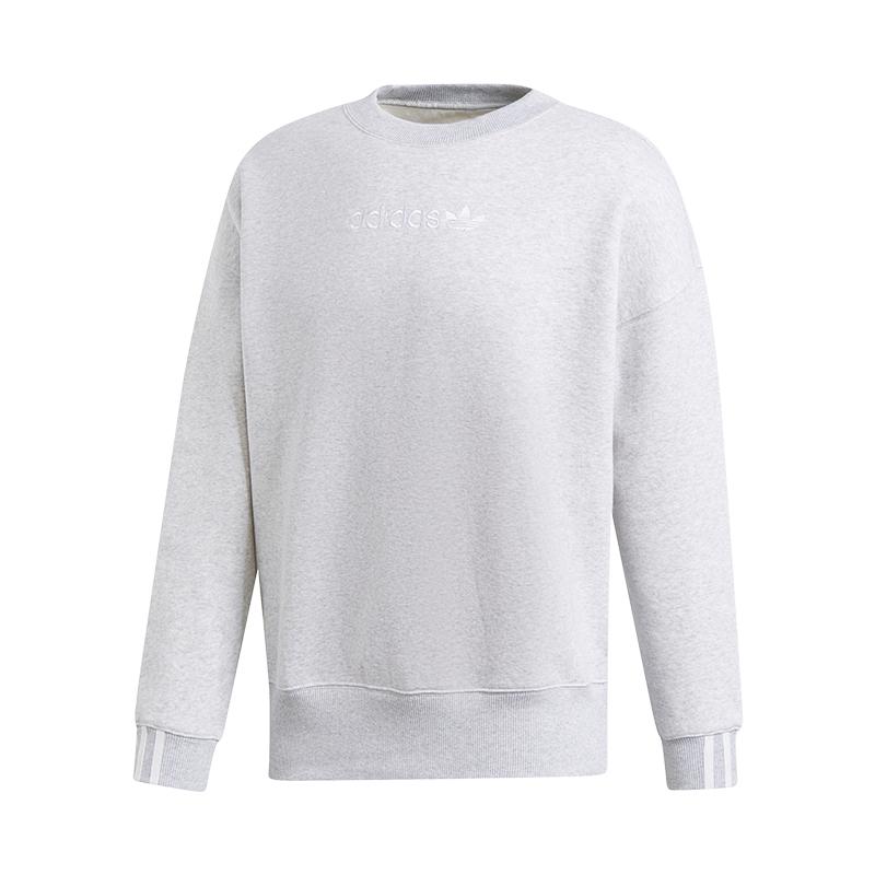 48812ac8fb98 Chargement de l image en cours Adidas-Originals-Coeeze-Sweat-Femme-Gris