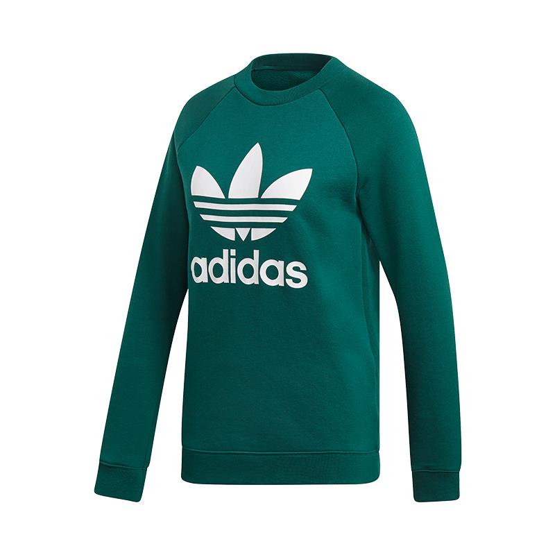 Donna Crew Felpa Adidas Originals Verde xwCax0P6q