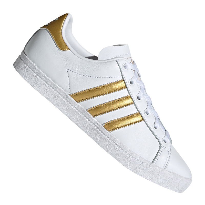 Details zu adidas Originals CS Sneaker Damen Weiss Gold
