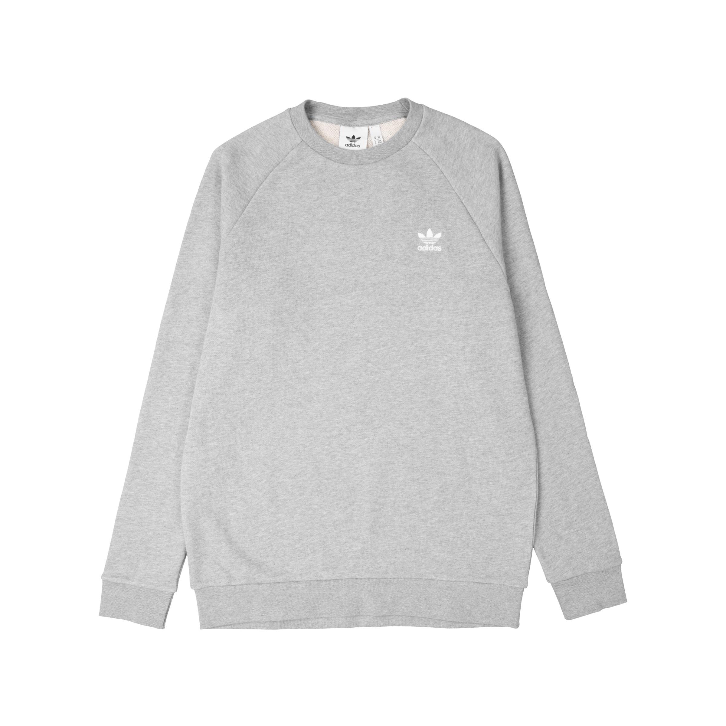 Adidas Originals Essential Crew Sweatshirt Grau Weniger Teuer