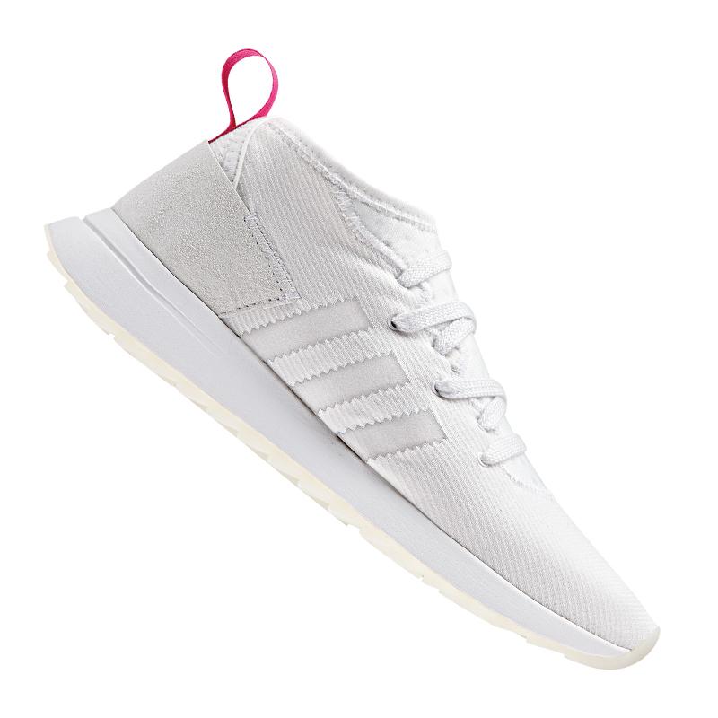 Details zu adidas Originals FLB Mid Sneaker Damen Weiss