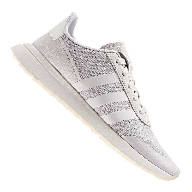 ADIDAS ORIGINALS FLB Sneaker Damen Grau Weiss