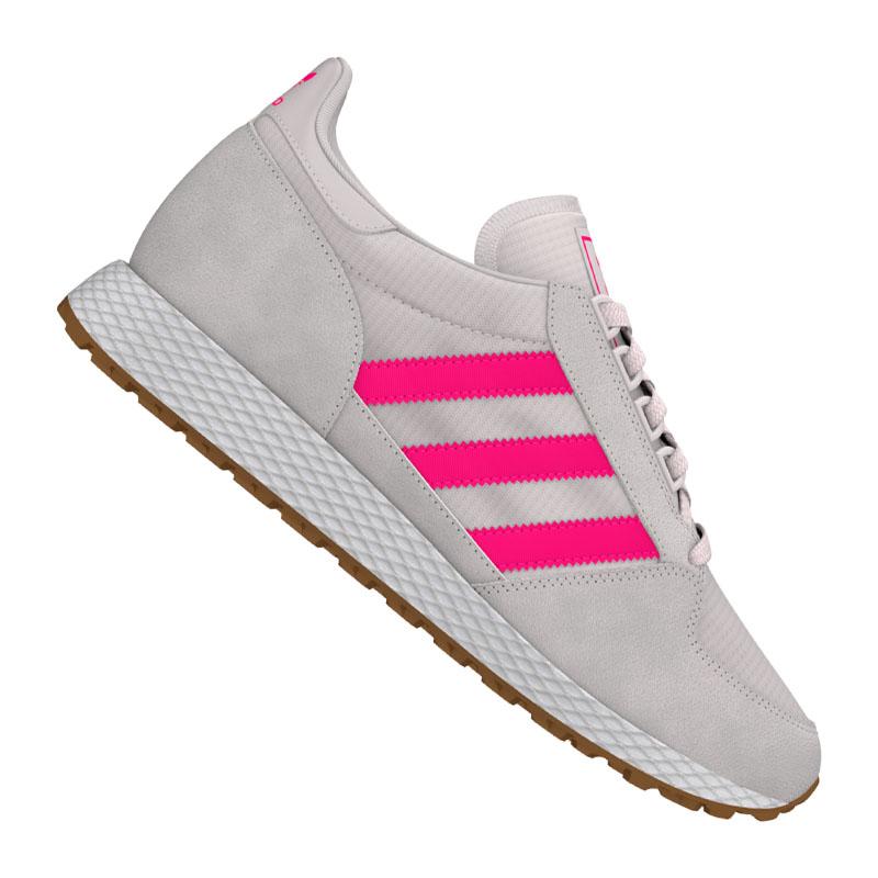 Détails sur Adidas Originals Forest Grove Baskets pour Femmes Blanc