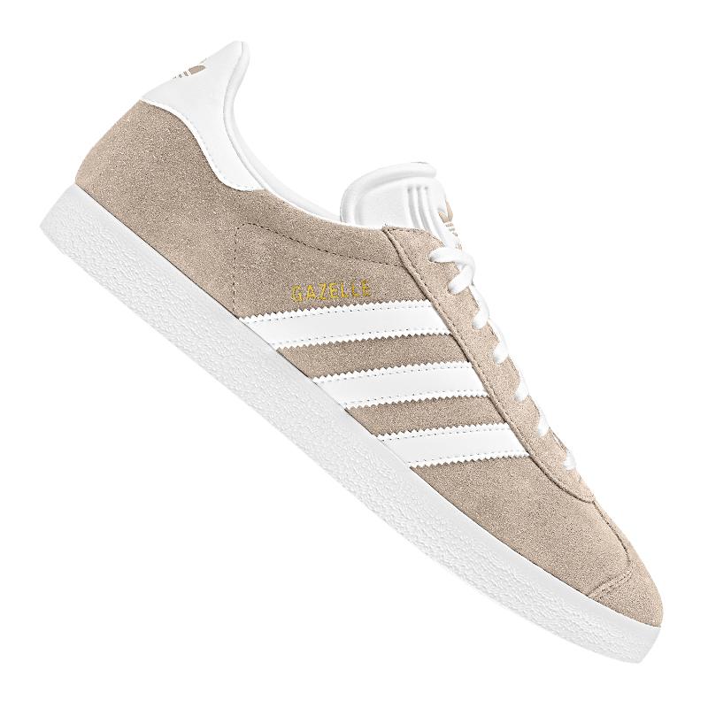 Dettagli su ADIDAS Originals Gazelle Sneaker Beige Bianco mostra il titolo originale
