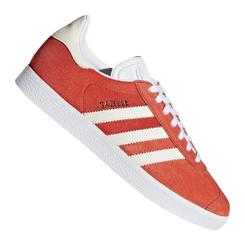 adidas Originals Gazelle Sneaker Damen Braun Weiss