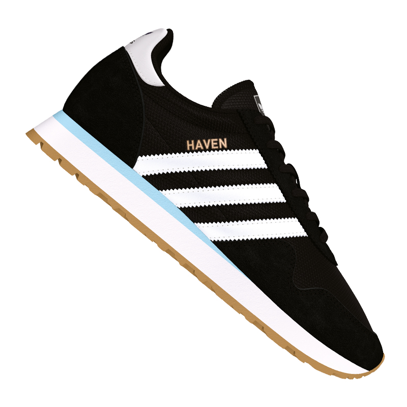 Adidas-Originals-Haven-Sneaker-Women-039-s-Black