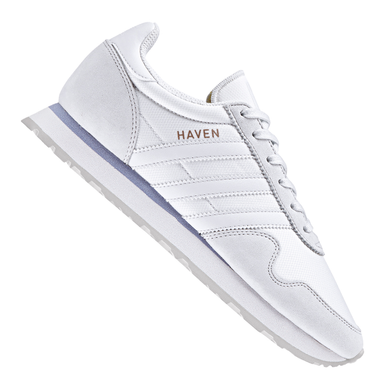 Adidas Originals Haven Sneaker Sneaker Haven Damen Weiss 24e3ac