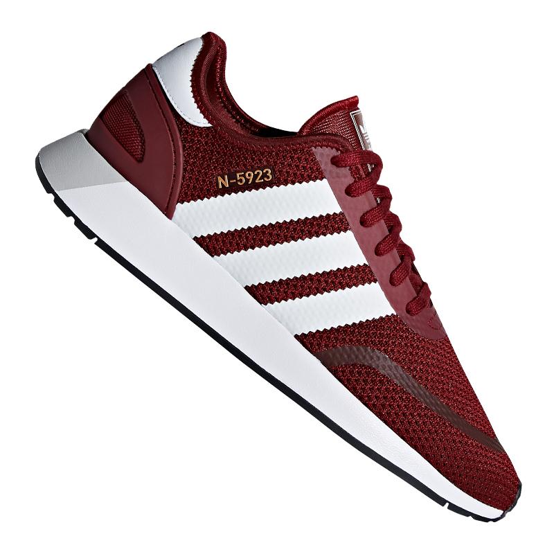 Los zapatos más populares para hombres y mujeres Adidas Originals Iniki Runner cortos rojo