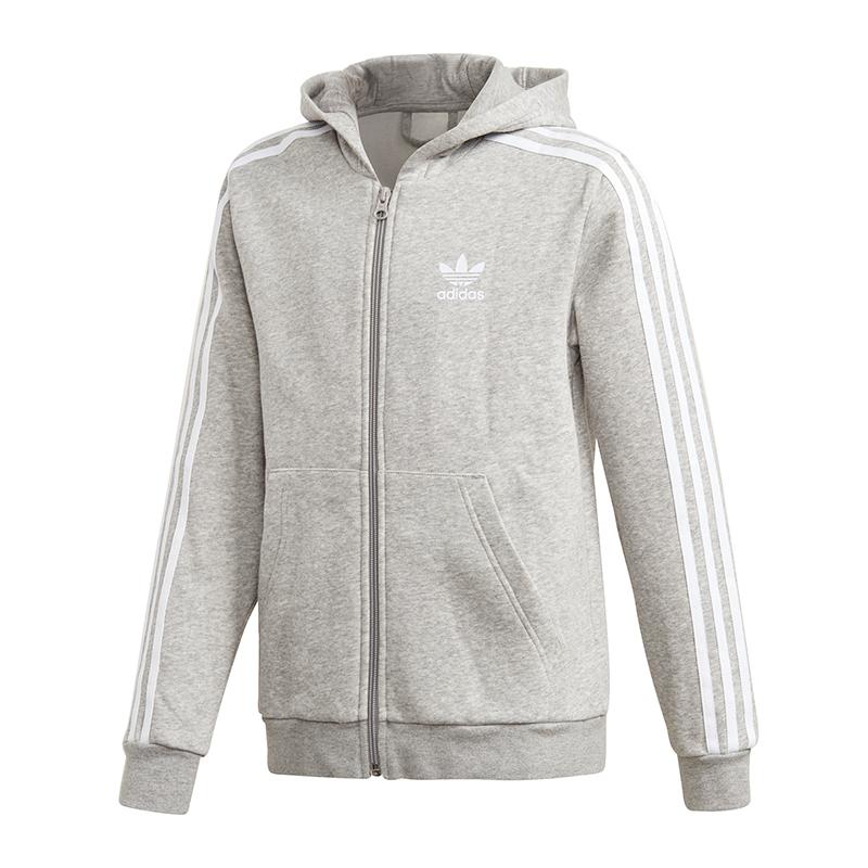 Adidas Originals Veste À Capuche Enfants Gris