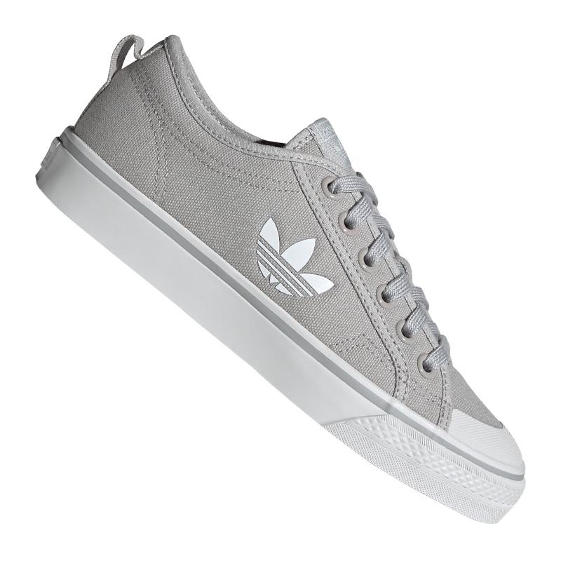 zapatillas mujer gris adidas