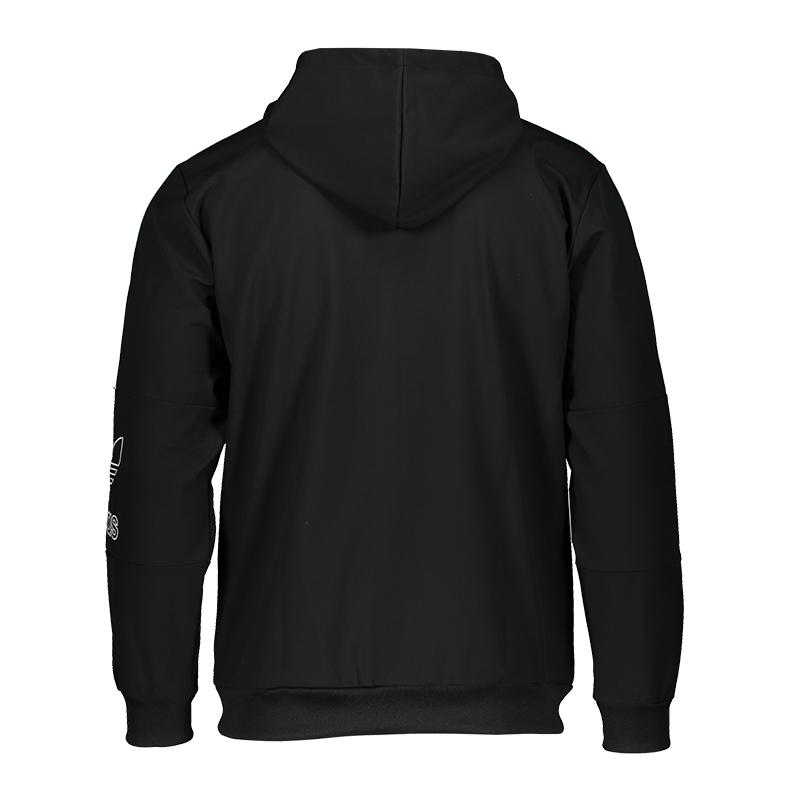 Originals Contour Capuche À Noir Adidas Veste ZuPXiwOkT
