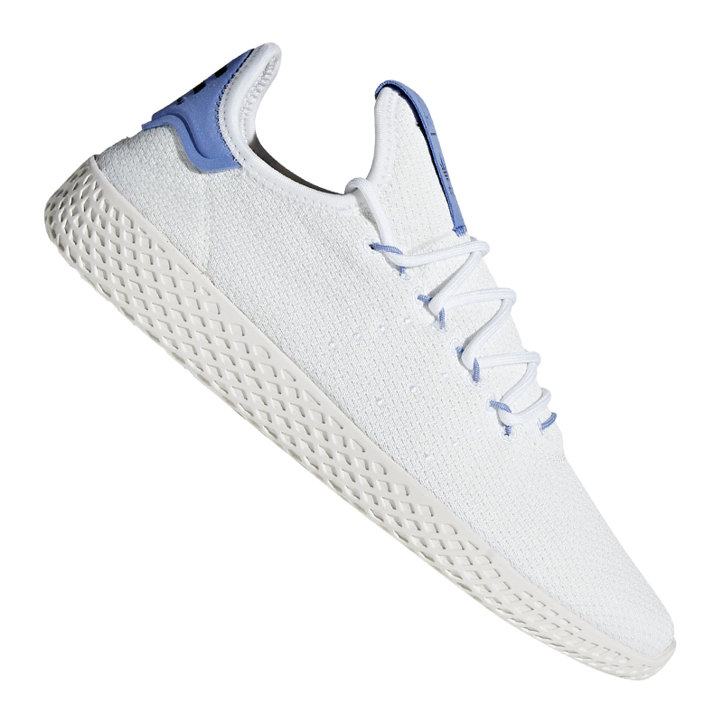 Details Tennis zu Sneaker Weiss PW HU Blau Originals adidas 6y7fbg