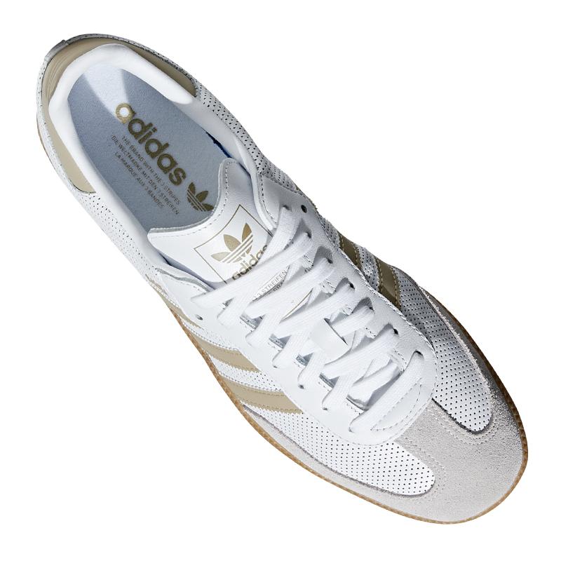 adidas Originals Samba Sneaker Weiss Beige |Streetstyle
