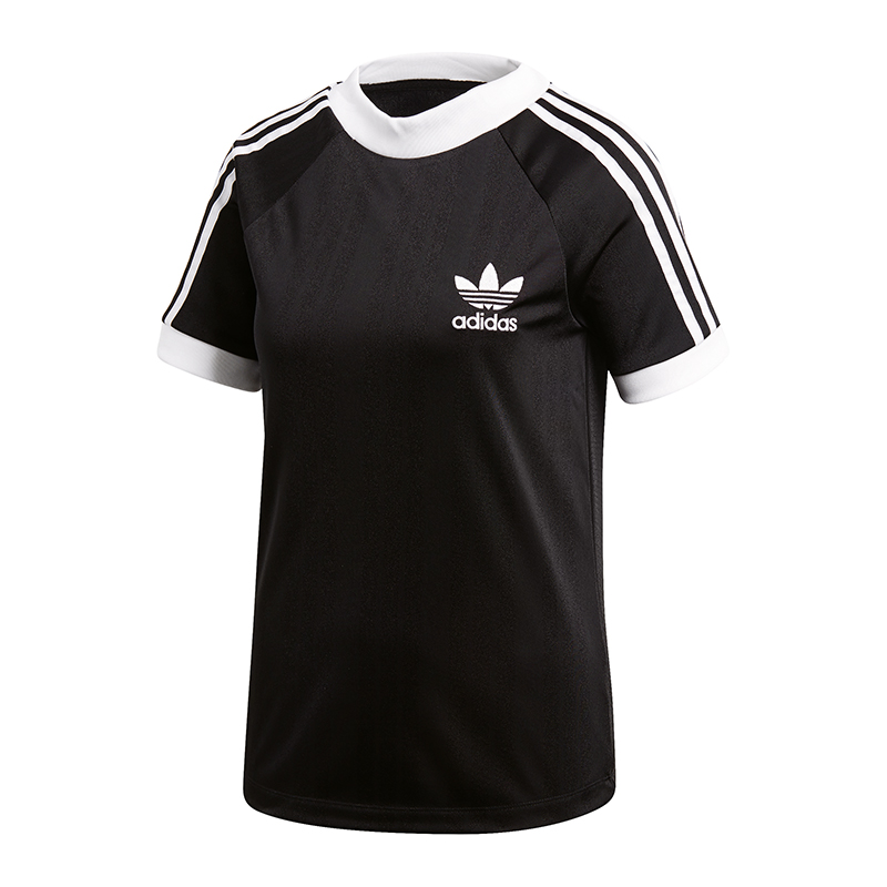 adidas originals sc t shirt football damen schwarz ebay. Black Bedroom Furniture Sets. Home Design Ideas