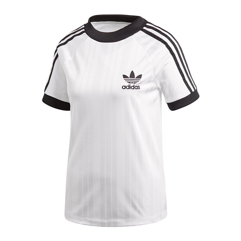 adidas originals sc t shirt football damen weiss ebay. Black Bedroom Furniture Sets. Home Design Ideas