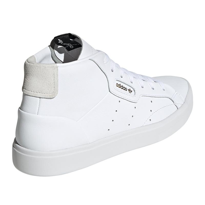 Adidas Originals Sleek Medium Sneaker Donna Bianco