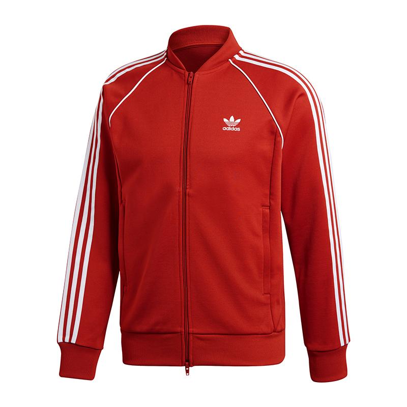 Originals Rouge Tracktop Blanc Sst Adidas Veste 4IxqHEdw48