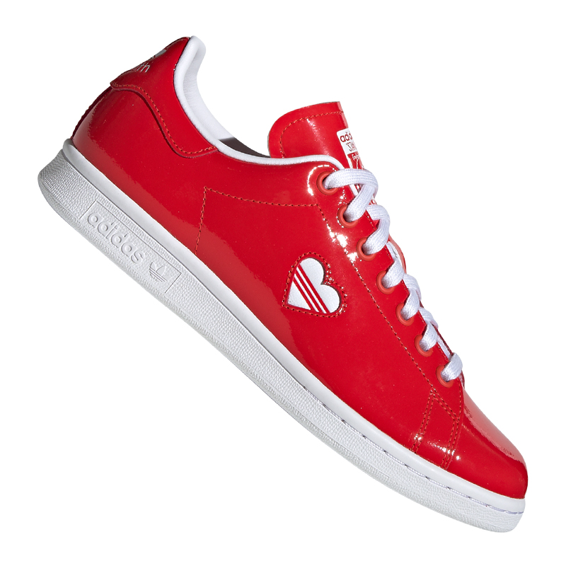 Adidas Originals Originals Originals Stan Smith baskets Femmes Rouge f04e53