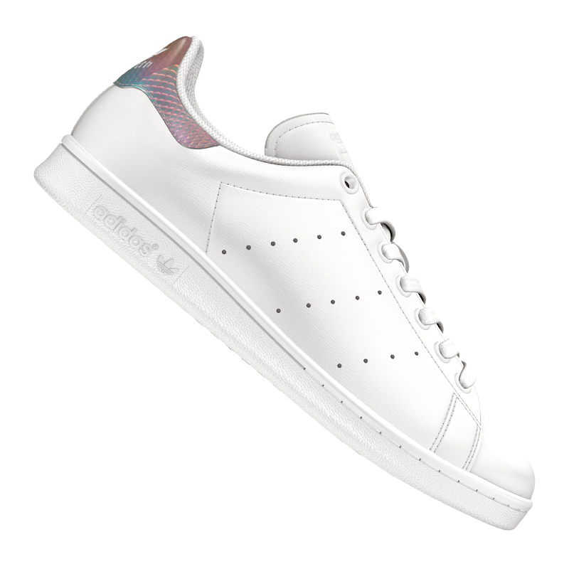 ... Adidas-Original-Stan-Smith-Baskets-pour-Femmes-Blanc