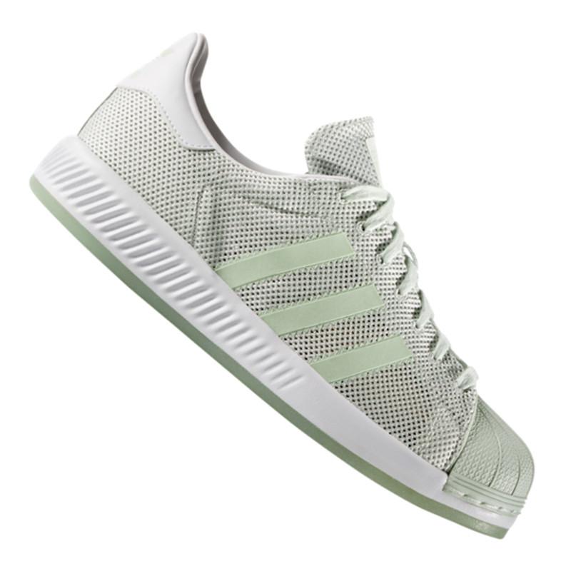 outlet store b1fba 79119 Das Bild wird geladen adidas-Originals-Superstar-Bounce-Sneaker-Tuerkis