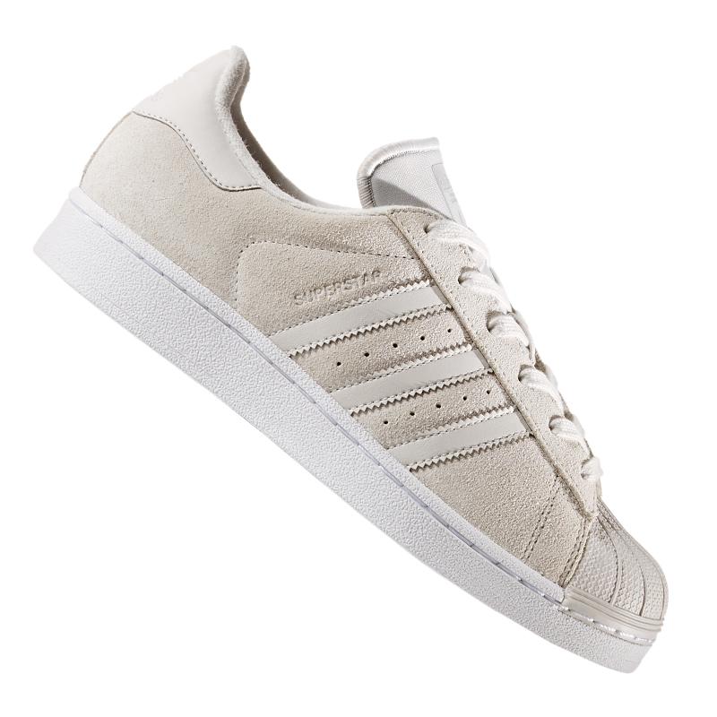 Adidas-Originals-Superstar-Sneaker-Women-039-s-Grey