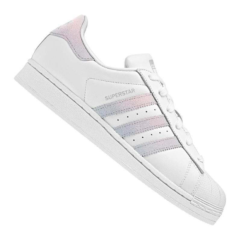 ... Adidas-Originals-Superstar-Basket-Femme-Blanc