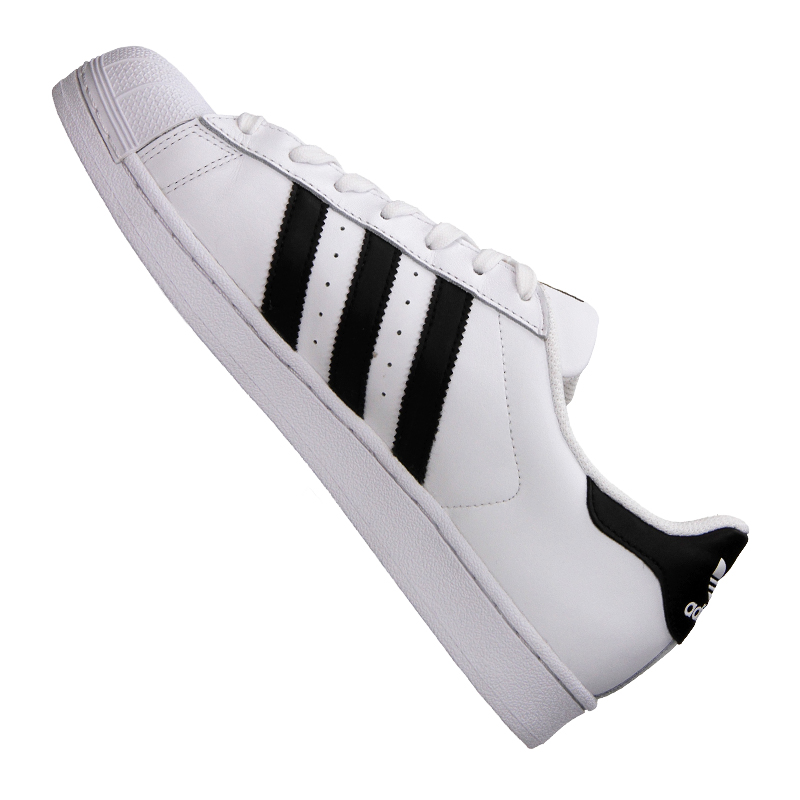 adidas originals superstar sneaker weiss schwarz ebay. Black Bedroom Furniture Sets. Home Design Ideas