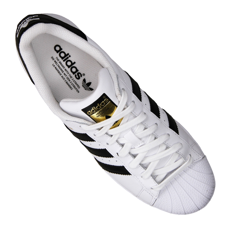 adidas originals superstar sneaker white black ebay. Black Bedroom Furniture Sets. Home Design Ideas