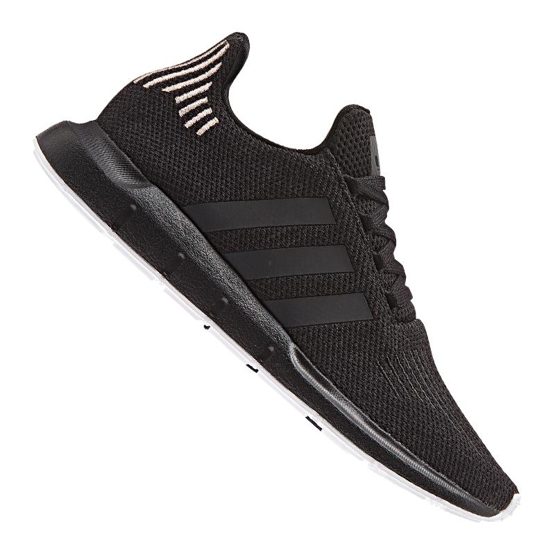 adidas adidas adidas Originals Swift Run Sneaker Damen Schwarz bef745