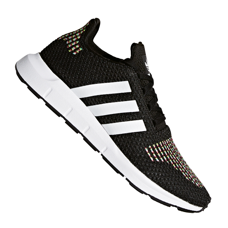 ADIDAS ORIGINALS SWIFT Course Dames Noires Blanc