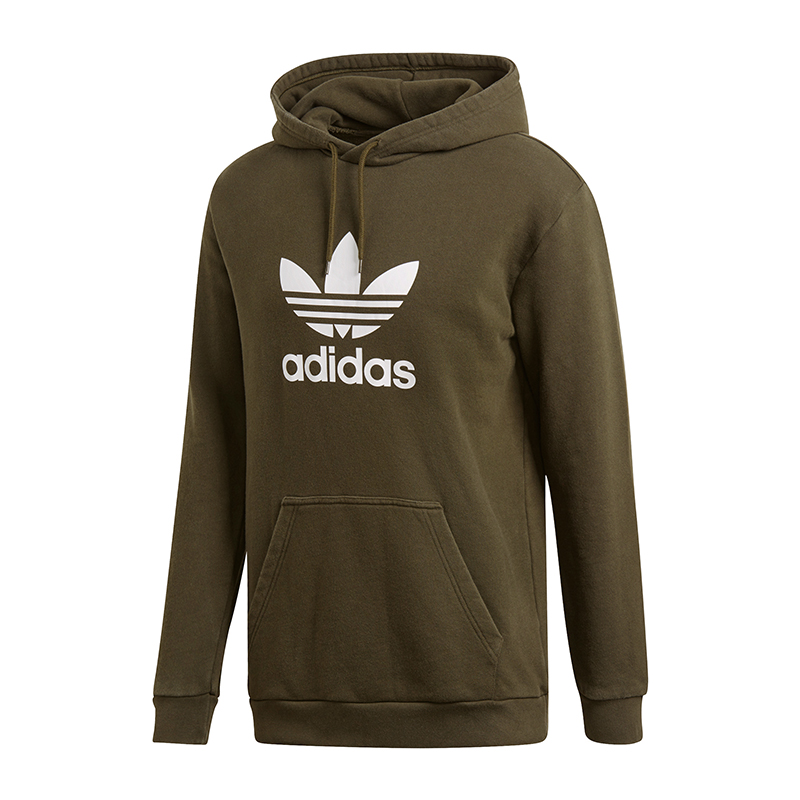Adidas Originals Trefoil Hoody Kapuzensweat Grün