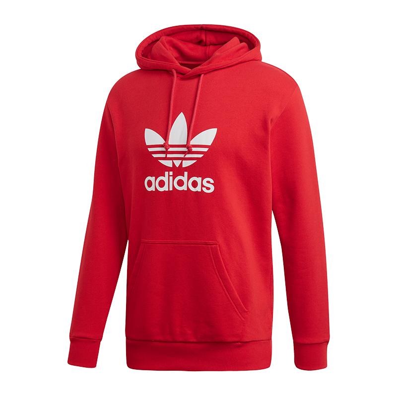 Hoodie Hoodie Adidas Hoodie Adidas Originals Originals Adidas Adidas Trefoil Originals Rood Rood Trefoil Rood Trefoil fwwBU