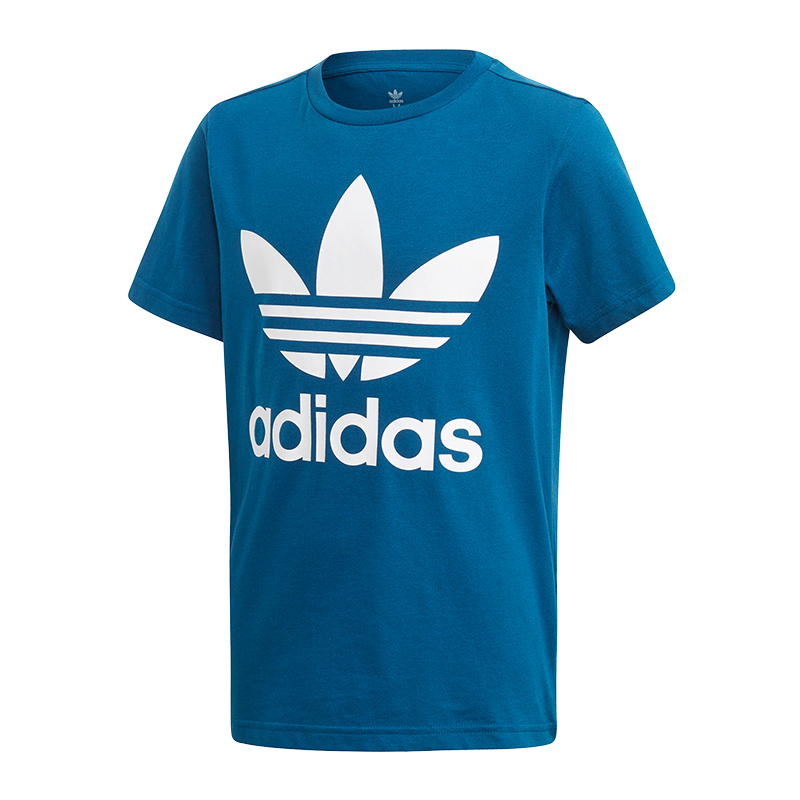 Großhandel ADIDAS ORIGINALS TREFOIL T Shirt Kids Blau