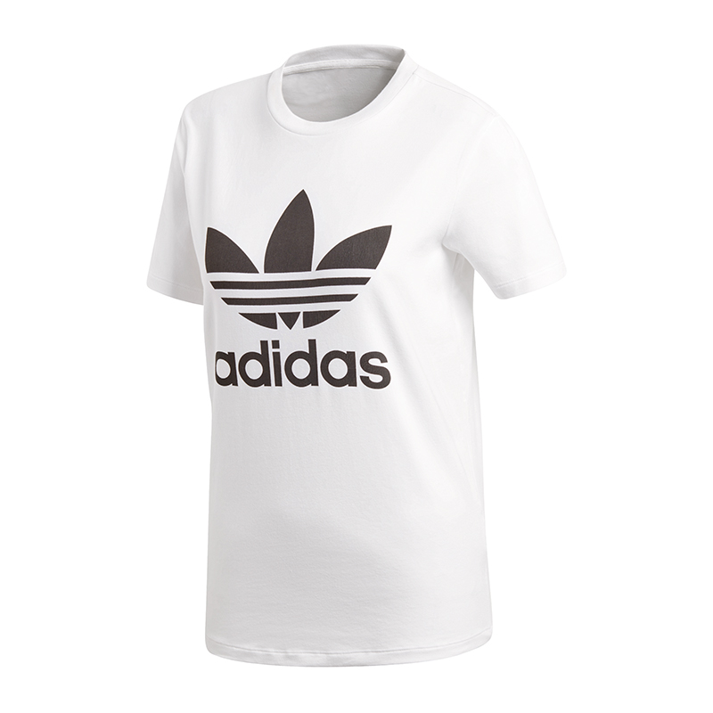 dca27597789a adidas Originals Trefoil Tee T-Shirt Damen Weiss   eBay