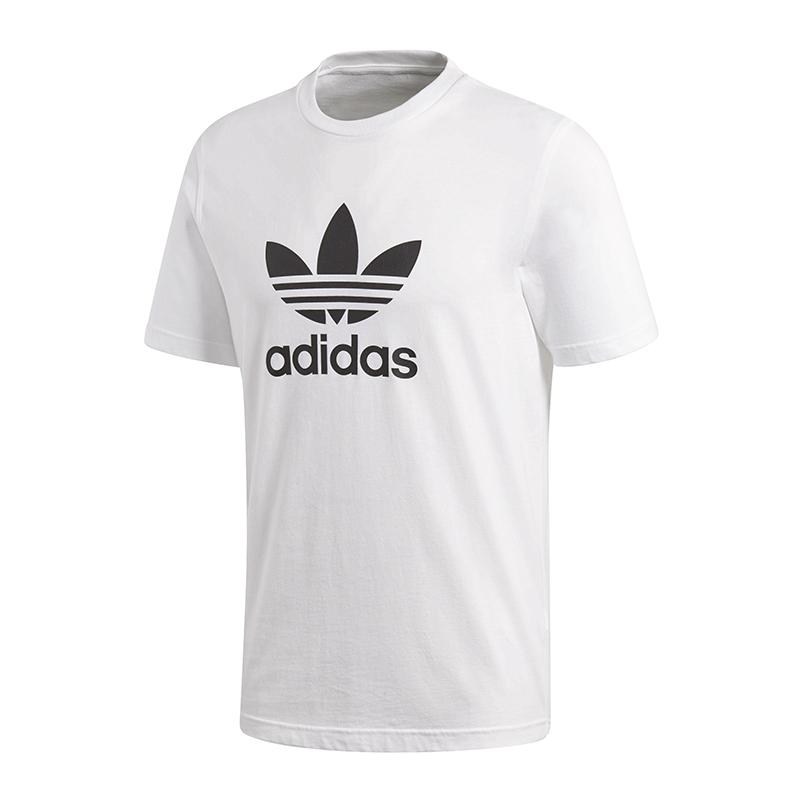 372c21ff8fec8d Das Bild wird geladen adidas-Originals-Trefoil-Tee-T-Shirt-Weiss